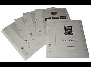 LINDNER-Vordrucke Falkland-Inseln 2001-2009