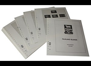 LINDNER-Vordrucke Falkland-Inseln 1992-2000