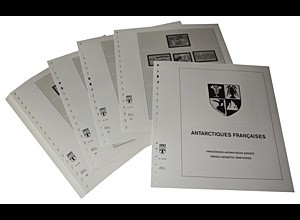LINDNER-Vordrucke Franz.-Antarkt. 1998-2012