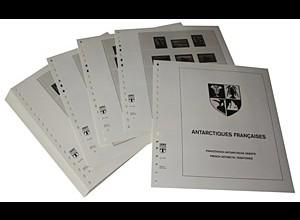 LINDNER-Vordrucke Franz.-Antarkt. 1955-1997