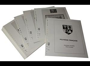 LINDNER-Vordrucke Französisch-Polynesien 1984-1994