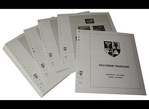 LINDNER-Vordrucke Französisch-Polynesien 1995-2009