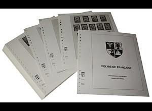 LINDNER-Vordrucke Französisch-Polynesien 1958-1983