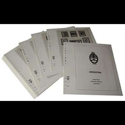LINDNER-Vordrucke Argentinien 1978-1984