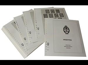 LINDNER-Vordrucke Argentinien 1985-1991
