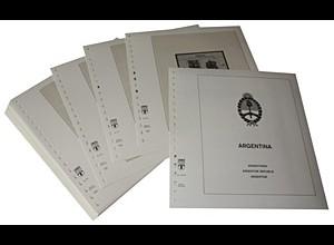 LINDNER-Vordrucke Argentinien 1992-1998