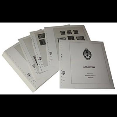 LINDNER-Vordrucke Argentinien 1999-2003