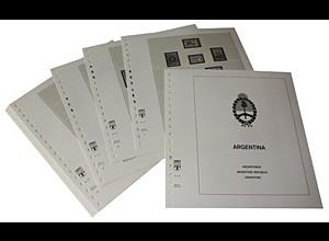 LINDNER-Vordrucke Argentinien 1970-1977