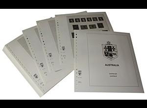 LINDNER-Vordrucke Australien 1966-1982