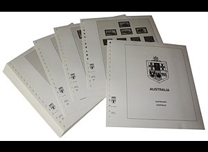LINDNER-Vordrucke Australien 1983-1991