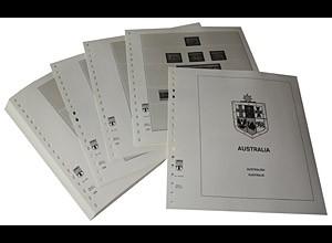 LINDNER-Vordrucke Australien 1992-1997