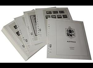 LINDNER-Vordrucke Australien 1998-2003