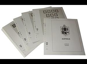 LINDNER-Vordrucke Australien 1913-1965