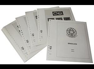 LINDNER-Vordrucke Brasilien 2001-2007