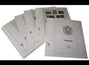 LINDNER-Vordrucke Brasilien 1987-1993