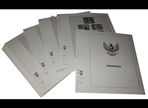 LINDNER-Vordrucke Indonesien 1999-2004