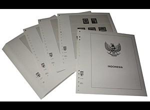 LINDNER-Vordrucke Indonesien 1984-1992