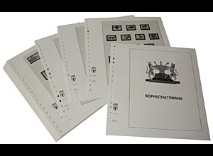 LINDNER-Vordrucke Bophuthatswana 1977-1994